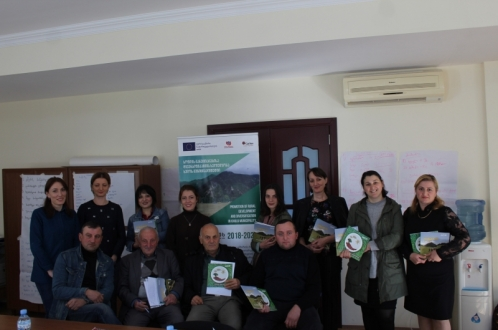 EU-supported Khulo LAG organized training course for guesthouse operators