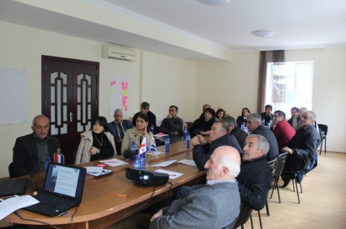 Workshops on the European LEADER approach and LAG principles was held in Khulo municipality
