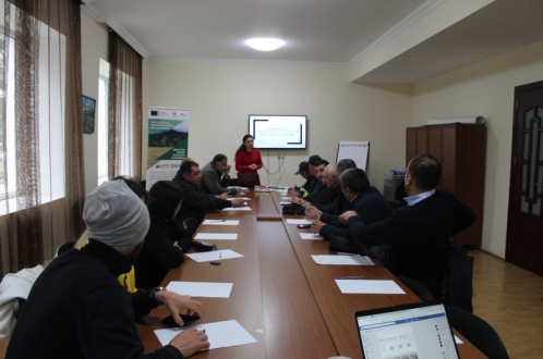 With the EU support training in environmental protection and Disaster Risk Reduction has been conducted in Khulo municipality