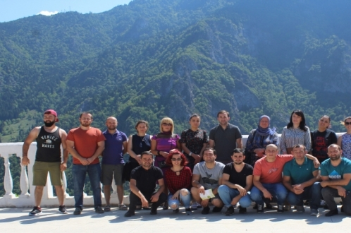 Akhmeta Local Action Group's (LAG) potential members visited Khulo LAG