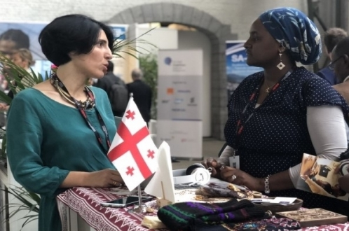 Two EU-supported projects in Georgia presented at European Development Days in Brussels