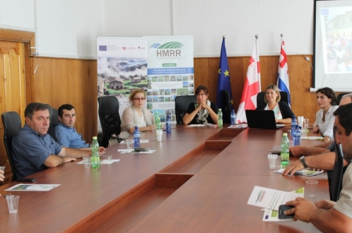 Trainings on the European LEADER approach was conducted in Khulo