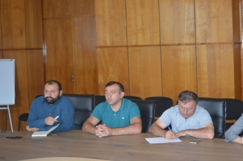 In Shuakhevi municipality conducted meeting regarding, economic development of Keda, Shuakhevi and Khulo municipalities