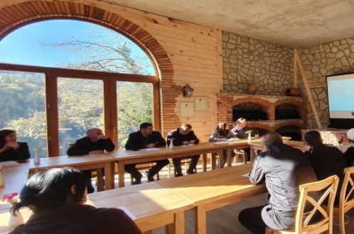 EU-supported training in agritourism was organized for tourism operators in Khulo municipality